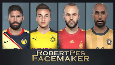 PES 2019 Facepack v1 by RobertPes Facemaker