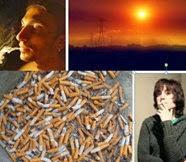 Dejar de fumar aumenta tu promedio de vida porque disminuye las probabilidades de enfermedades de los pulmones.