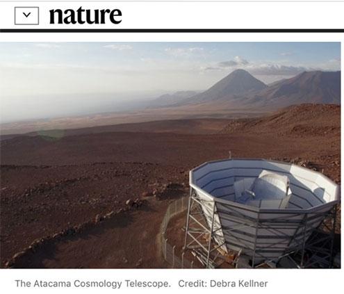 The Atacama Cosmology Telescope (Source: Nature)