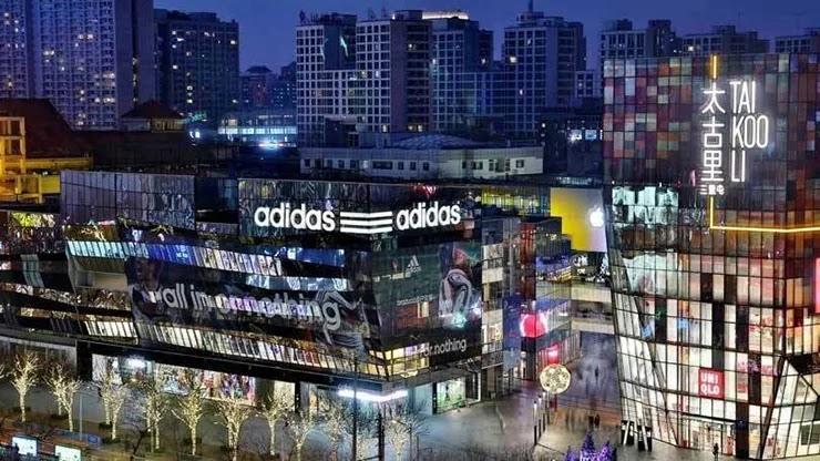 Adidas сообщает о росте продаж в Китае