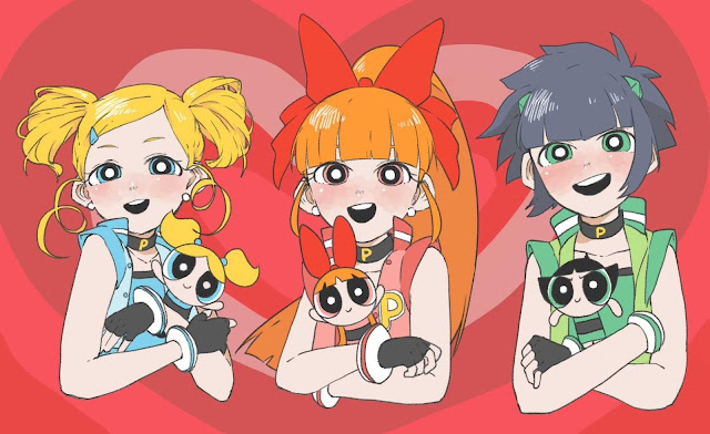 anime powerpuff girls wallpaper