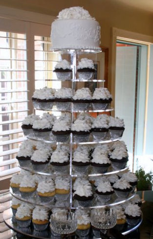 Our Specialty Fancy Cupcakes Amp Stands