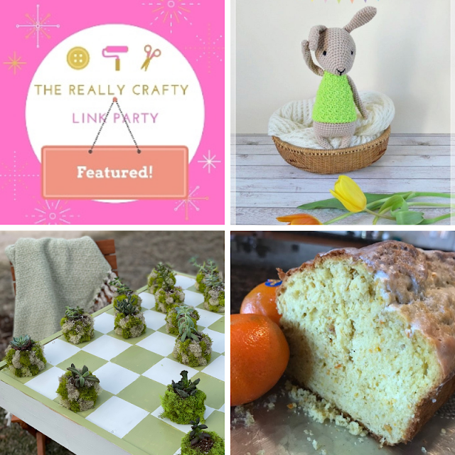 The Really Crafty Link Party #261 featured posts