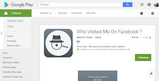 Cara Melihat Orang Yang Sering Ngintip Fb Kita | Aplikasi Stalker FB
