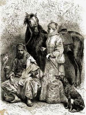 Lady Anne Blunt, al sulaba