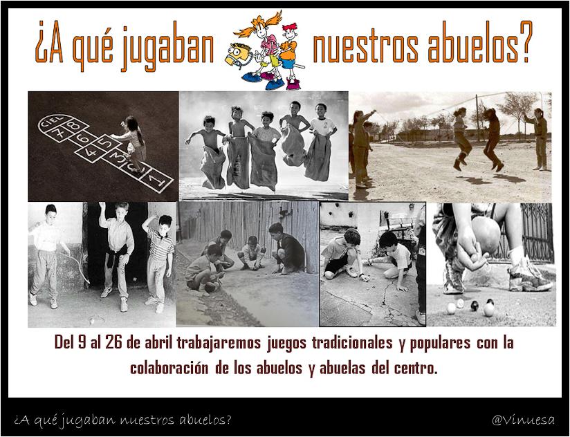 Ceip Cervantes Dos Hermanas A Que Jugaban Nuestros Abuelos