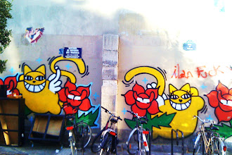 Sunday Street Art : Monsieur Chat - rue Candie - Paris 11