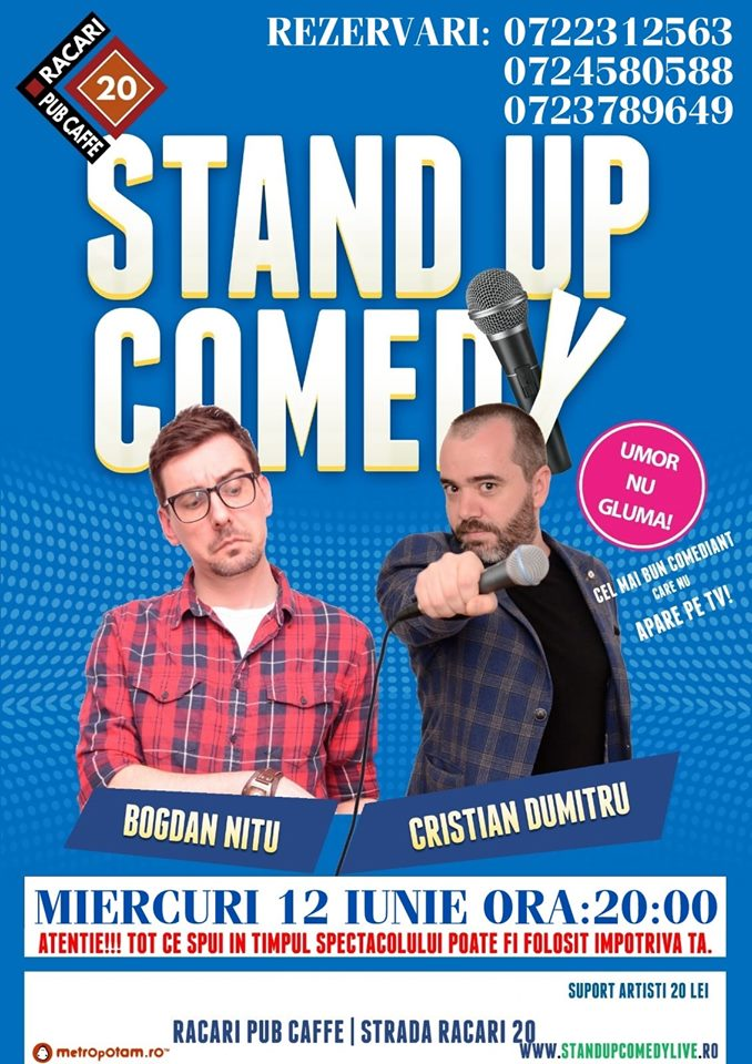 Stand-Up Comedy Bucuresti Romania 2019