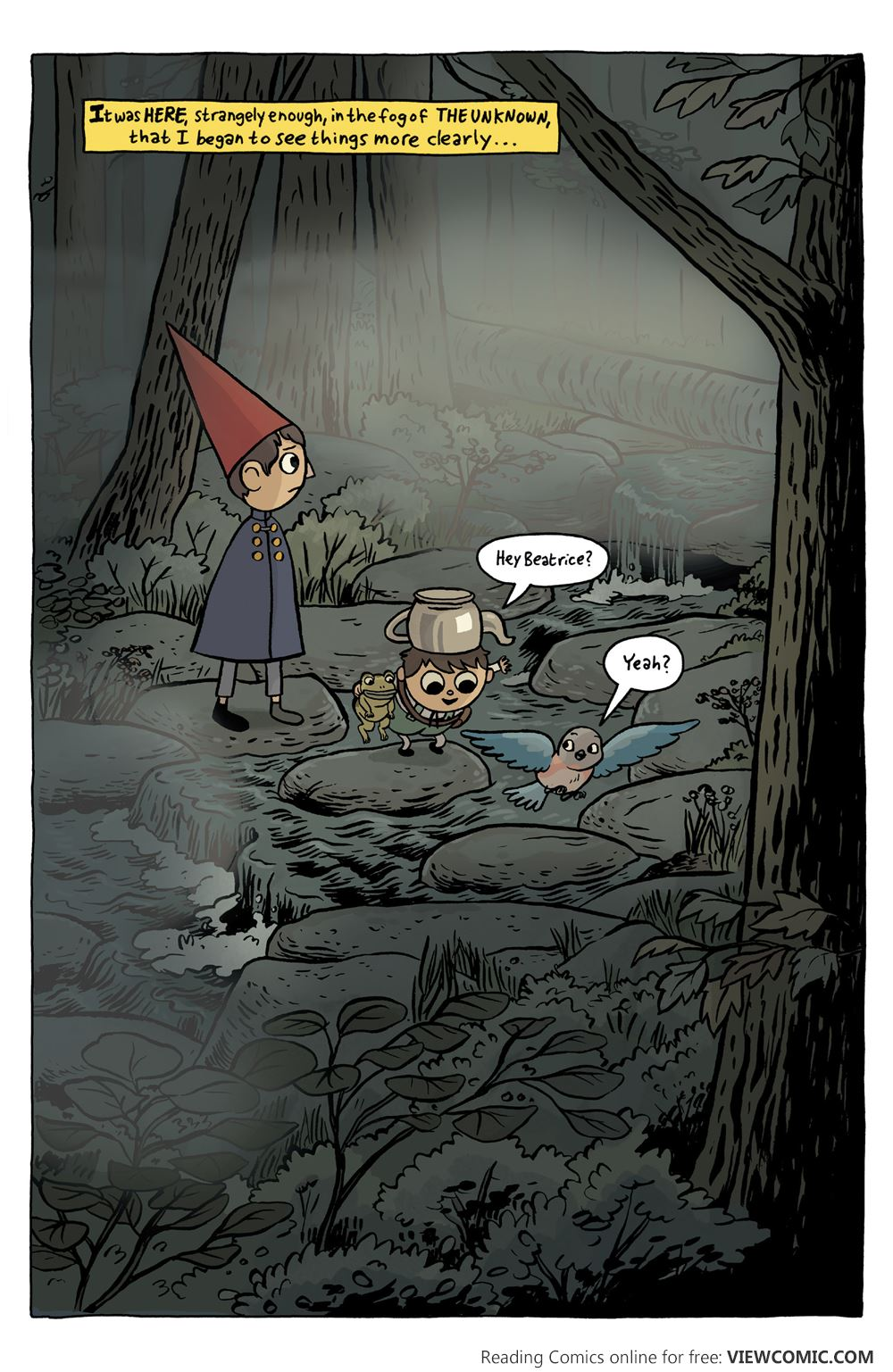 Over The Garden Wall Special 001 Read All Comics Online