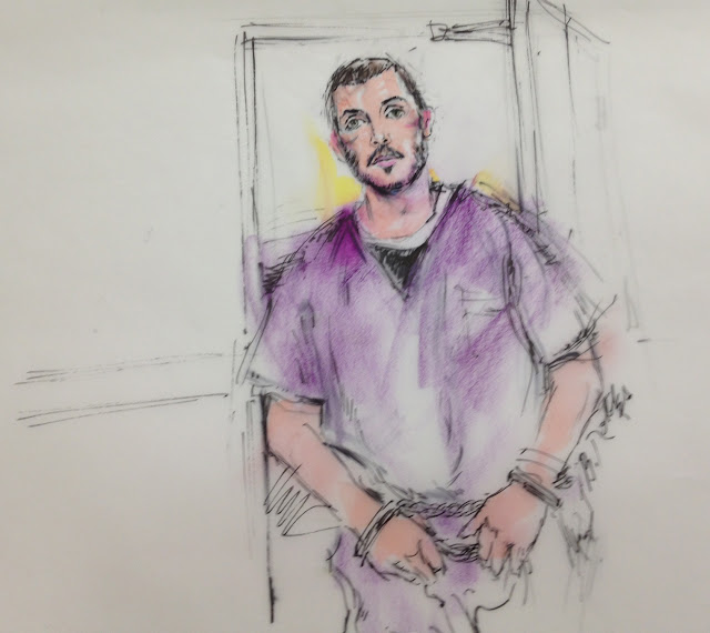 Aurora Shooting July 30: The Hubris Of Boz: Court Art: The James Holmes Trial