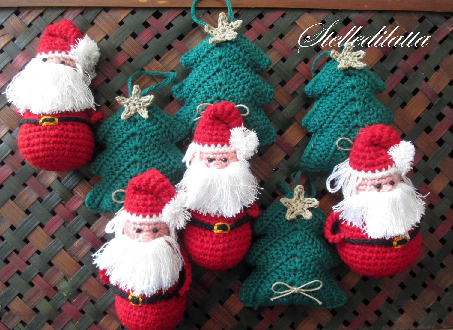 Amigurumi natalizi: schemi e tutorial per decorazioni e pupazzi ... | 1101x1511