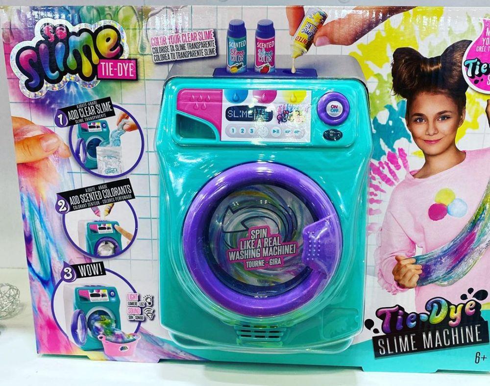Слаймовая стиральная машинка Tie Dye Slime Machine новинки игрушек 2020