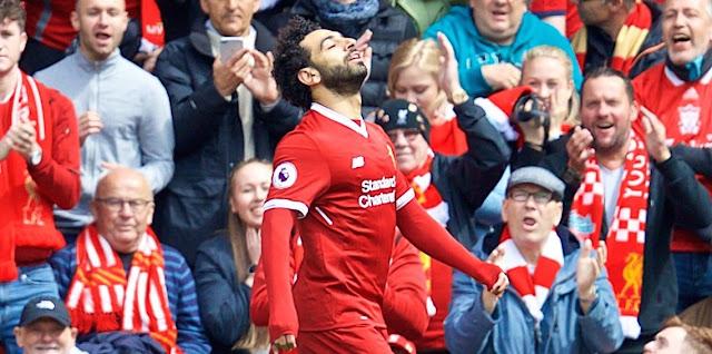 حقيقية إيقاف محمد صلاح بعد مباراة ستوك سيتي في الدوري الإنجليزي