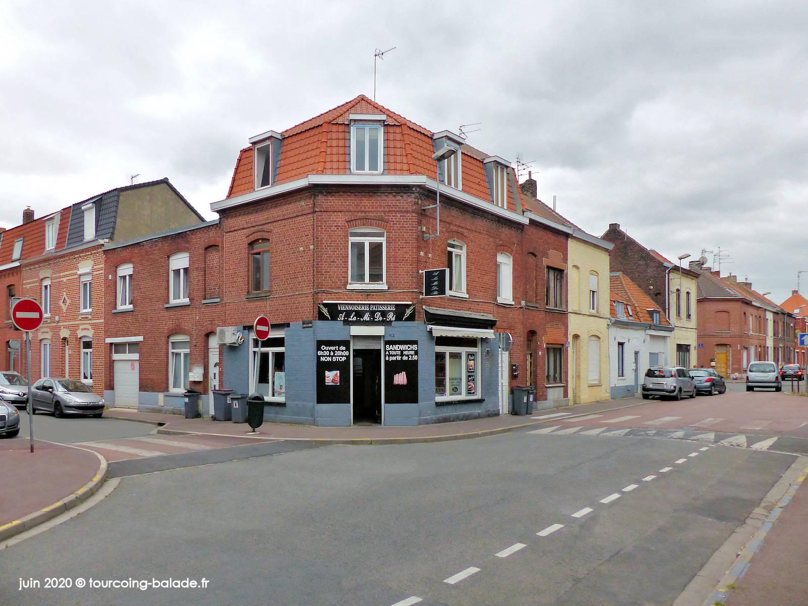 Rue de Roncq, Tourcoing 2020