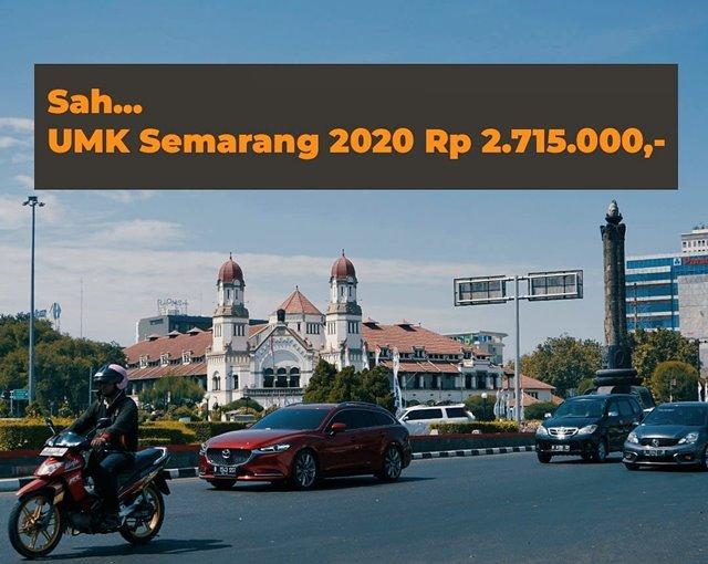 UMK Jawa Tengah 2020-IGseputarsemarang