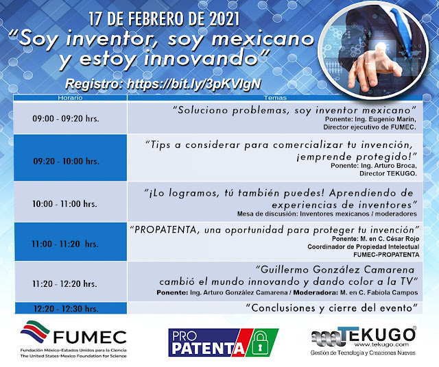 Arturo Broca en Día de Inventor Mexicano