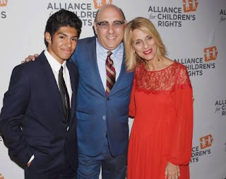 Picture of Willie Garson with his son Nathan and co-star