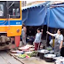 Video: A train passing through a market. It's amazing how people adjust.