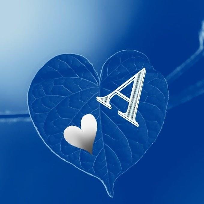 A Alphabet Letter Dp Pics Wallpaper for Whatsapp n Facebook