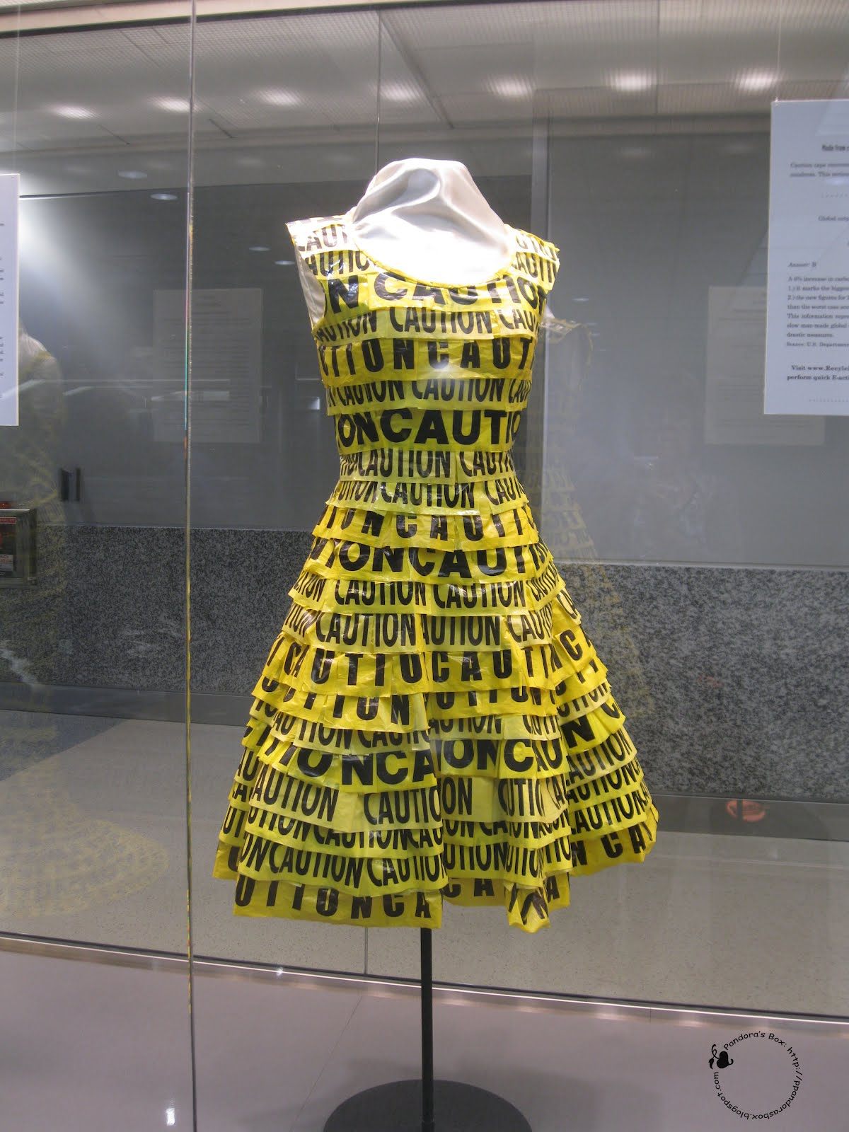 recycled materials recycle clothing items into runway clothes recycling dress project box dresses outfit things reuse textiles used pandora tape