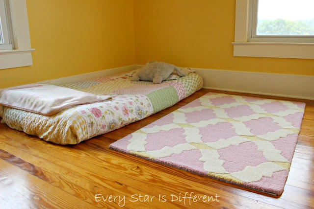 The benefits of a Montessori floor bed for children with special needs.