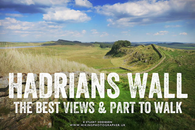 Hadrian's Wall, best views, walk, best bits, Wall path, Roman wall, where is it, best part
