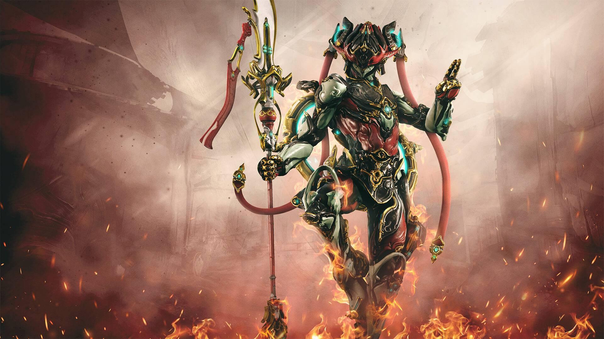 Nezha Prime warframe