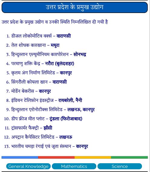उत्तर प्रदेश के प्रमुख उद्योग पीडीऍफ़ पुस्तक | Uttar Pradesh Ke Pramukh Udhyog PDF Book In Hindi
