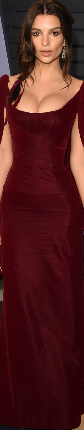 Emily Ratajkowski 2018 Vanity Fair Oscar Party