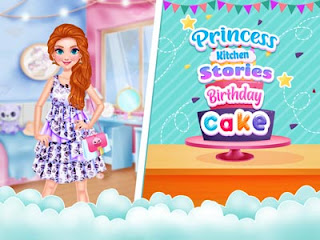 Princess Kitchen Stories: Birthday Cake