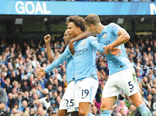 Manchester City crushed Liverpool 5:0 English Premier League