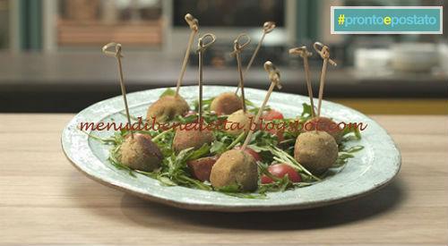 Pronto e postato - Polpette alle lenticchie ricetta Benedetta Parodi
