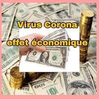 L'effet du virus Corona  ou Coronavirus chinois 2020 est devenu plus évident sur l'économie mondiale et chinoise