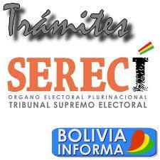 Trámites en el Serecí, Bolivia