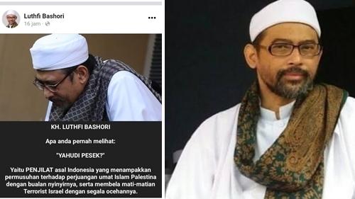 Heboh 'Yahudi Pesek', KH Luthfi Bashori: Sebutan untuk Penjilat Nyinyiri Pembela Palestina