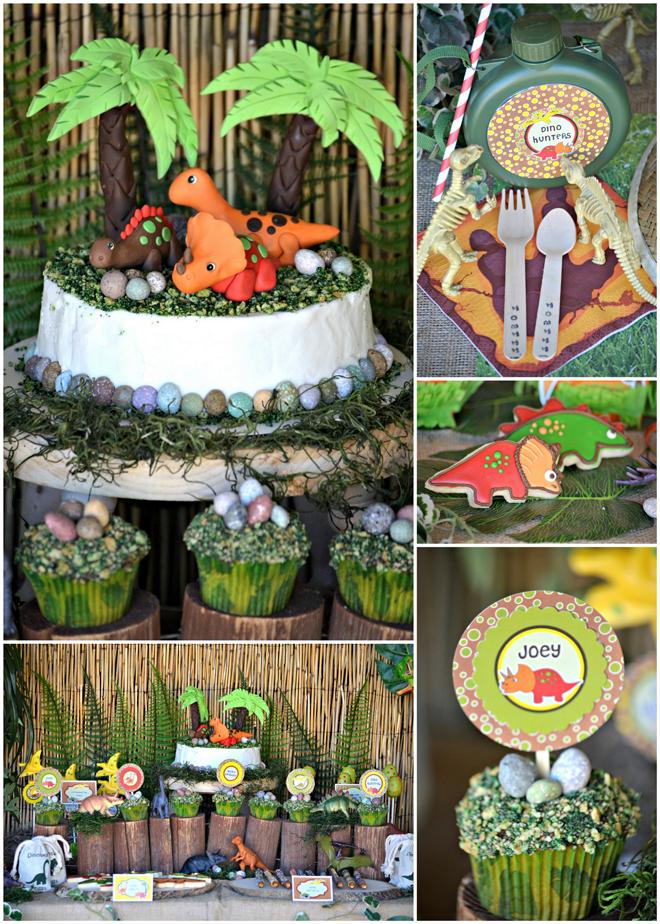 Dinosaur Birthday Party Ideas & Printables - BirdsParty.com