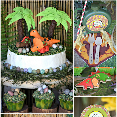 Dinosaur Birthday Party Feature