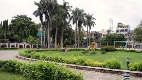 Park in Golghar Patna
