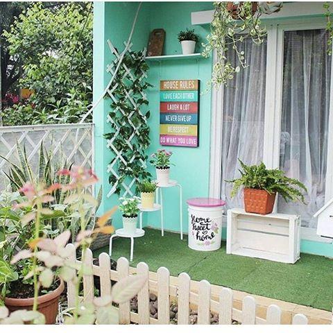 cara dan contoh dekorasi teras rumah minimalis terbaru