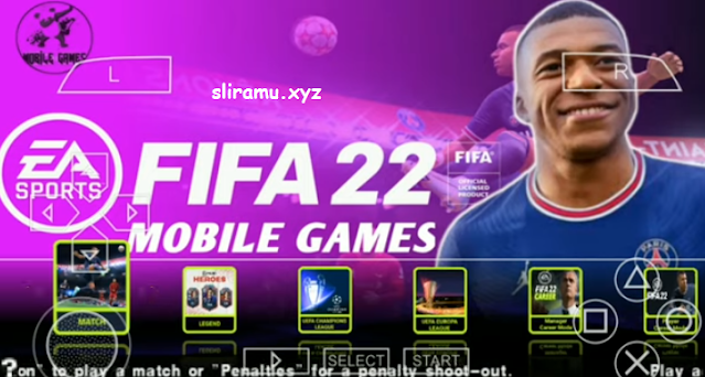 Fifa 22 PPSSPP Android Offline Best Graphics New Kits + Transfers 21/22