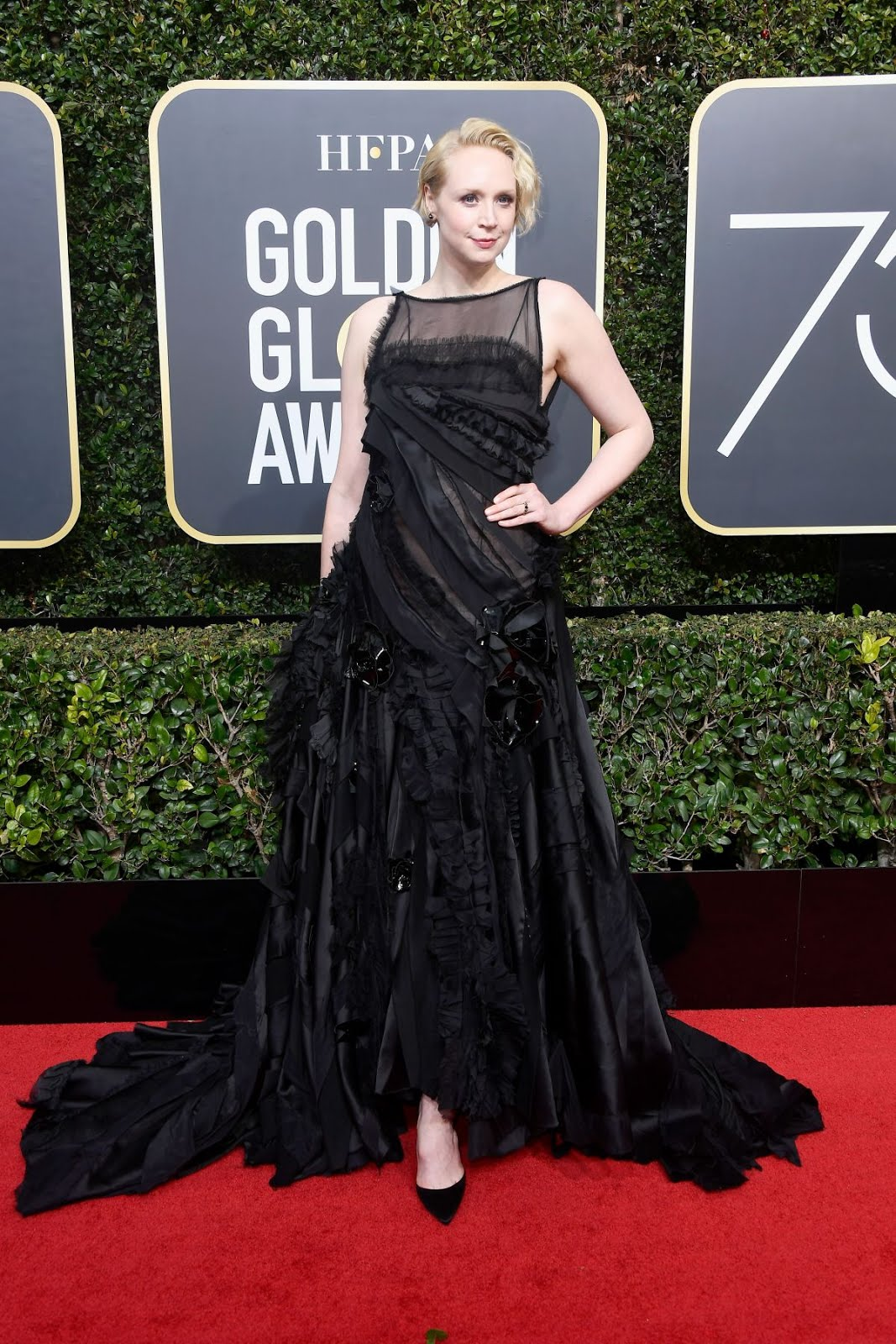 Gwendoline Christie At 75Th Annual Golden Globe Awards In Beverly Hills 2018