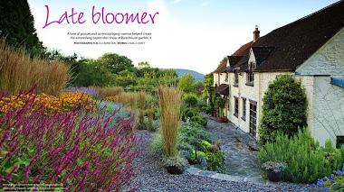 Septiembre en Barn House garden