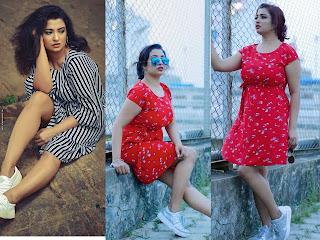 Nima Chandran Hot Thighs Photos