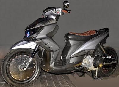 contoh modifikasi motor xeon gt 125