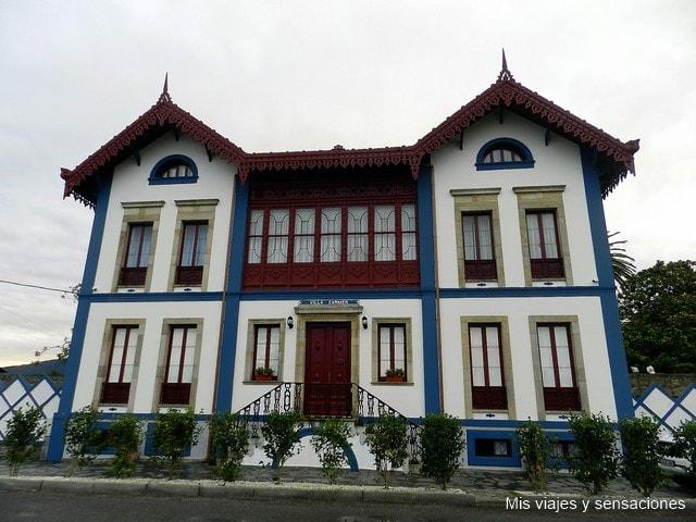 Casas de indianos, Luarca