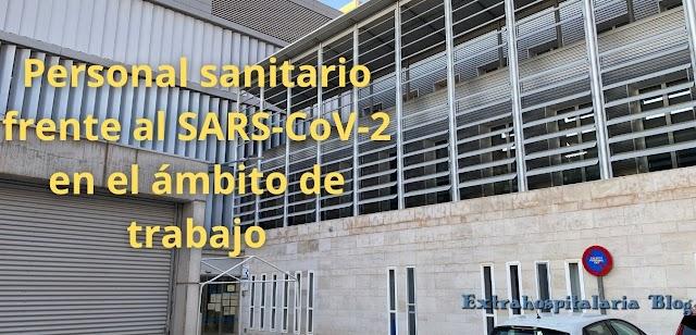 Personal sanitario frente al SARS-CoV-2 en el ámbito de trabajo