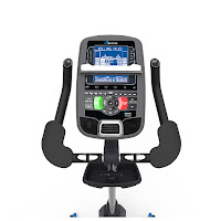 Nautilus U618 SightLine console, image, with STN dual blue backlit screens, Bluetooth connectivity