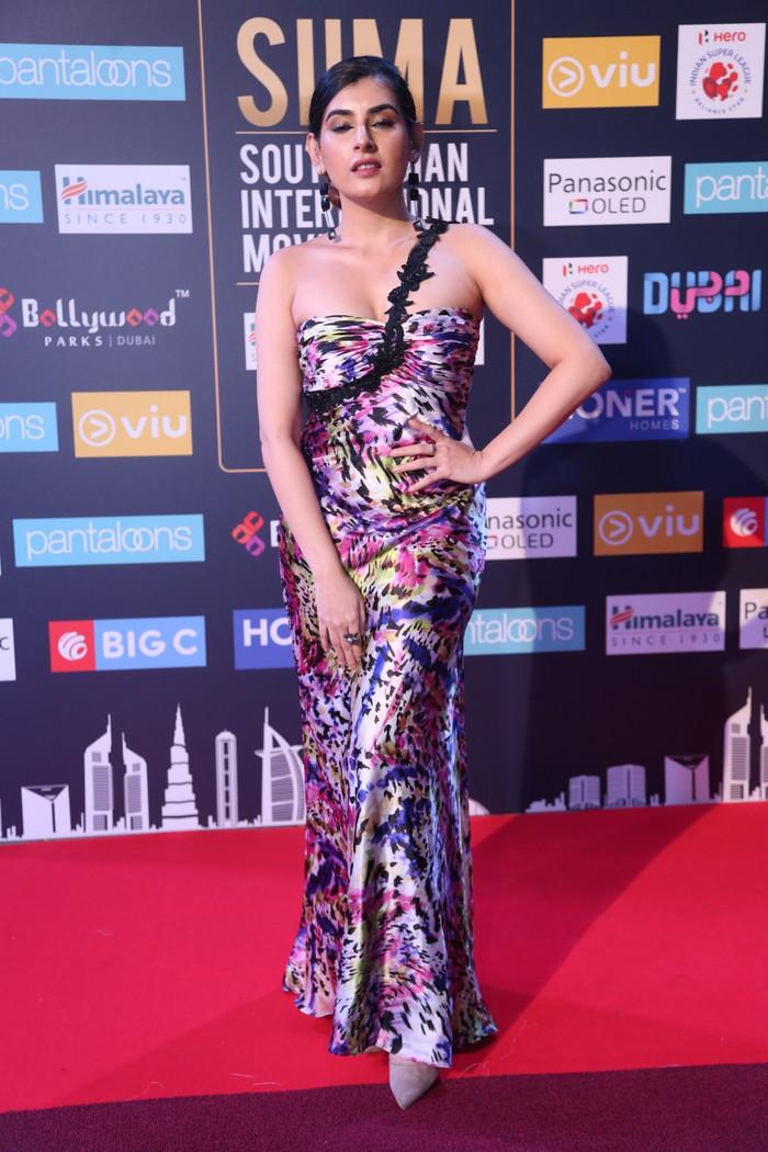 South Indian Actress Archana Veda Photos at Siima Awards 2018
