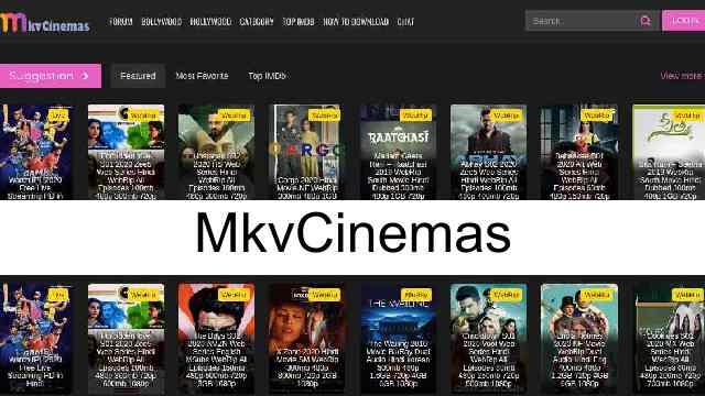MkvCinemas is a popular pirated Bollywood, Hollywood, Bengali, Tamil, Punjabi movies downloading website.