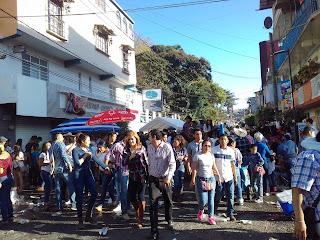 Pendón en Chilpancingo